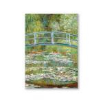 Mini Artbook Monet Pont 12 x 17 cm