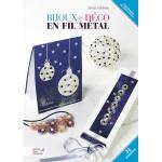 Livre - Bijoux & deco en fil metal