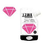 Peinture pailletée Izink Diamond 80 ml - Fuchsia