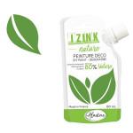Peinture décorative Izink Nature 80 ml - Vert jungle