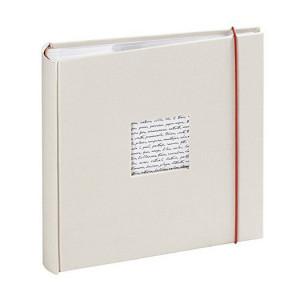Album photo traditionnel - 60 pages 30 x 30  cm - Modèle Linéa Blanc cassé