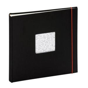 Album photo traditionnel - 60 pages 30 x 30  cm - Modèle Linéa Noir