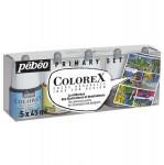 Encre aquarelle Colorex set de 5 x 45ml