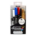 Feutre peinture 4Artist Marker 4 mm - Assortiment 8 pcs