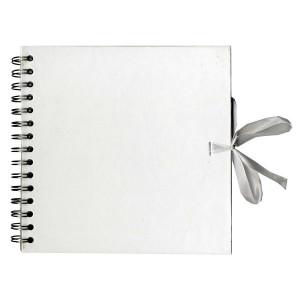 Album de Scrapbooking 30 x 30 cm Kraft Blanc