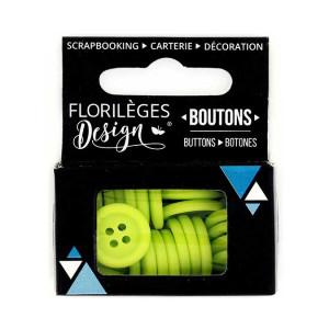 Boutons - 1,5 cm - aloe véra