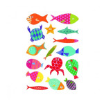 Gommettes Baby poissons