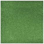 Papier pailleté vert éternel 30x30cm