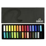 Boîte de 30 demi-pastels secs Rembrandt