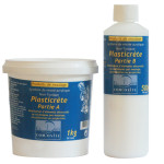 Résine acrylique de coulée Plasticrète 1.5kg