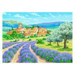 Peinture par numéro - Lavande en Provence