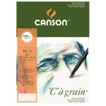 Bloc de papier C à Grain 30 feuilles A3 180 g/m²