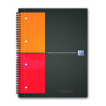 Cahier Notebook A4+ petits carreaux Q.5x5 160 p