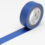 Masking tape uni bleu fluo