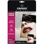 Papier photo brillant Ultimate A4 - 270 g/m² - 20 feuilles