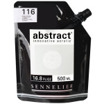 Peinture acrylique fine Abstract 500 ml - 116 - Blanc de titane