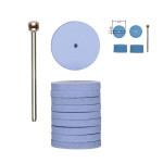 Polissoirs élastiques en silicone - Disque Ø 5 mm - 10 pcs