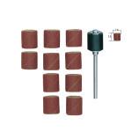 Bande abrasive en corindon - Grain 120 Ø 14 mm - 10 pcs