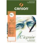 Bloc de papier C à Grain A5 - 180 g/m² - 30 feuilles