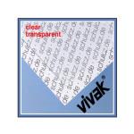 Plaque de plastique transparent 20 x 30 cm ep. 0,5 mm x 3 pcs