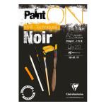 Bloc Paint'On papier Noir 250 g/m² 20 F - 42 x 59,4 cm (A2)