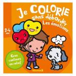 Album de coloriage Je colorie sans déborder Les émotions