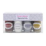 Encre pigmentée à décorer 4 couleurs 15 ml