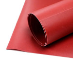 Thermoplastique norme B1 FlameRed 1 x 1,5 m