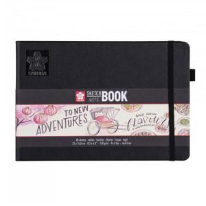 Carnet de dessin Sketch Note Book papier Blanc crème 140 g/m² 80 F - 13 x 21 cm