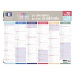Calendrier 2020-2021 Mon académie Zone B