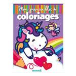 Mon premier bloc de coloriages Fées et licornes