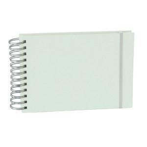 Album Mini Mucho 90 pages crème couverture lin 25 x 16 cm Moss