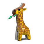 Maquette carton 3D Girafe
