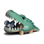 Maquette carton 3D Crocodile