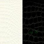 Papier Pellaq® CROCO 50 x 68 cm 188g - Noir