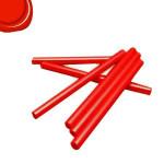 Bâton de cire Ø 8 mm 6 pcs Rouge