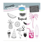 Stampo Clear Floride - Set de 13 tampons